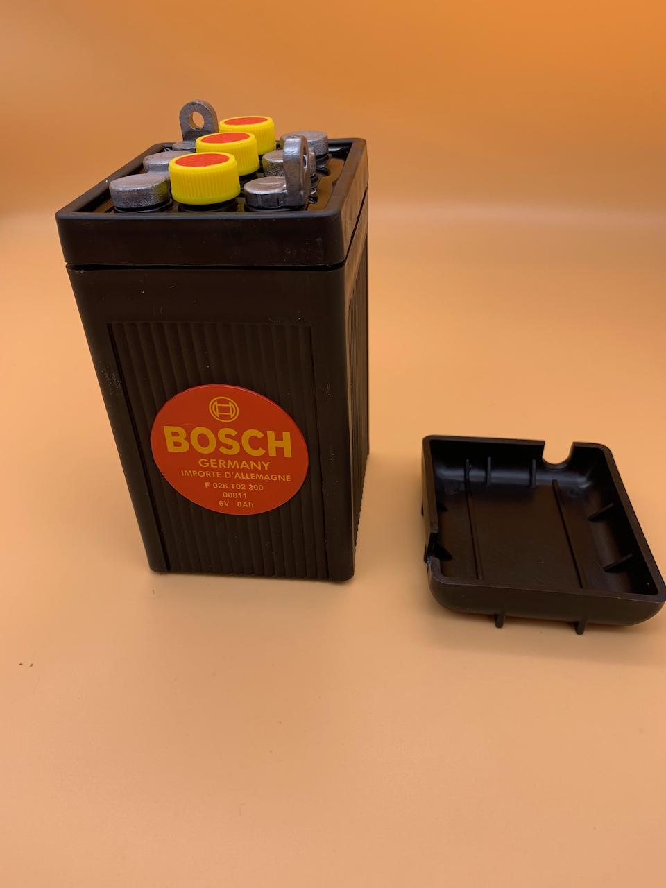 Akumulátor, batéria BOSCH 6 Volt, 8 Ah Image